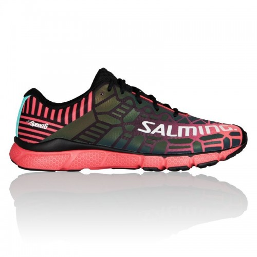 SALMING SPEED 6 - WOMEN Black/Magenta