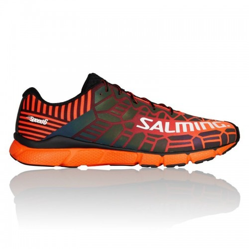 SALMING SPEED 6 - MEN Orange/Black