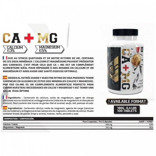 CA + MG 100 CAPS -MVP