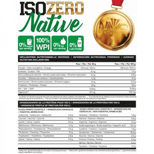 Iso ZERO Native