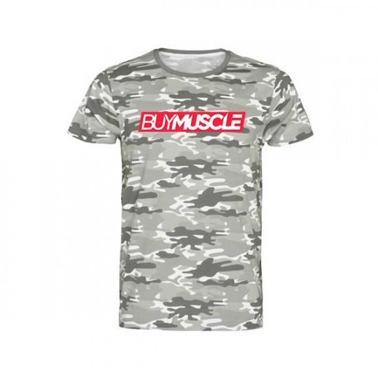 Camiseta Camuflaje Buy Muscle