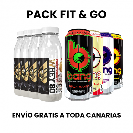 Pack Fit & Go (Envío gratis)