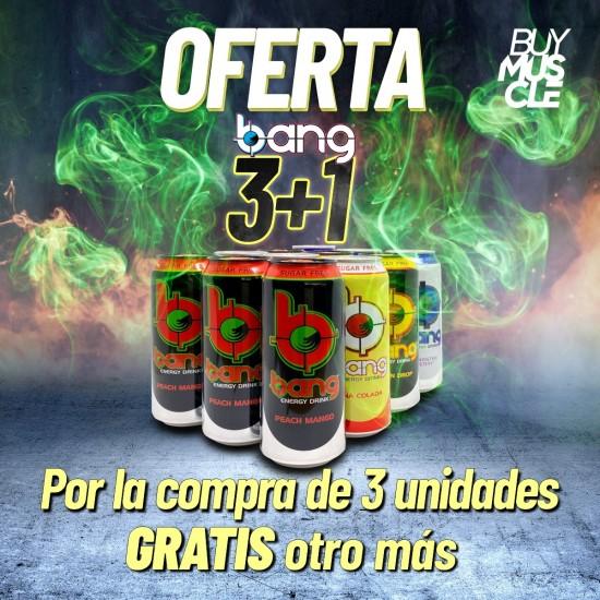 Pack Degustación Bang® Energy Drinks 3+1