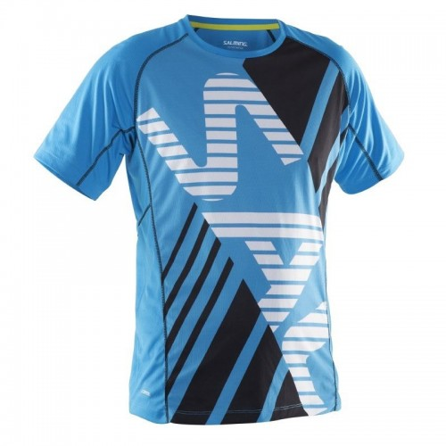 SALMING RUNNING TEE MEN CIAM BLUE