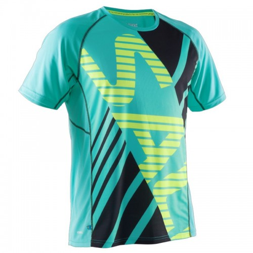 SALMING SS TEE MEN Ceramic Green/Black