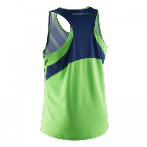 SALMING RACE SINGLET lizard/deep blue