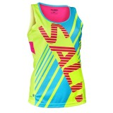 SALMING RACE SINGLET WOMAN  yellow