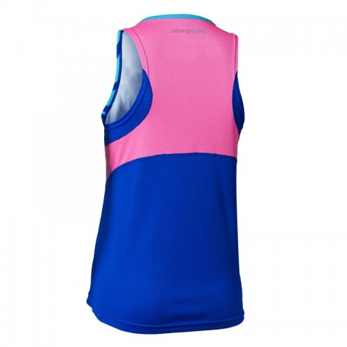 SALMING RACE SINGLET WOMAN blue