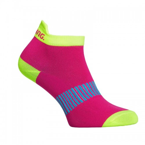 SALMING PERFORMANCE ANKLE SOCK 3P coral/mixed