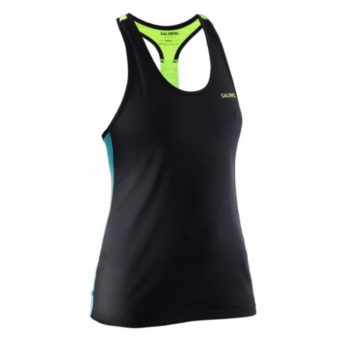 Salming T Back Tanktop ceramic gree/black